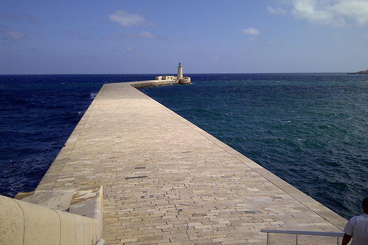 Grand Harbour Breakwater