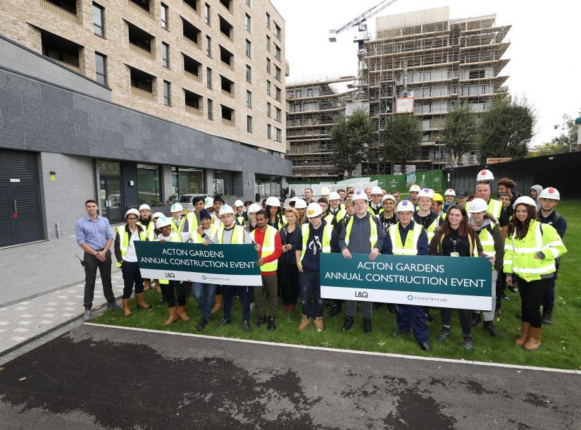 Countryside Properties- Acton Gardens Construction Event.