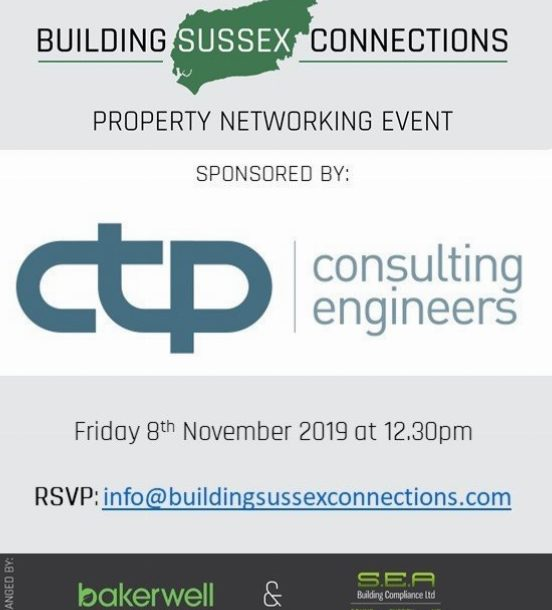 Building Sussex Connections Property Networking Event