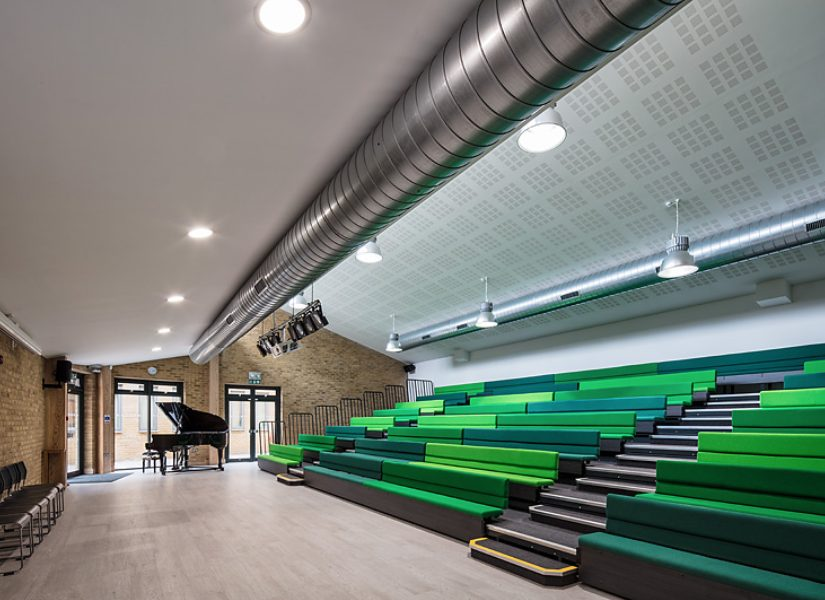 Cavendish School, Camden – Classroom and Theatre Block