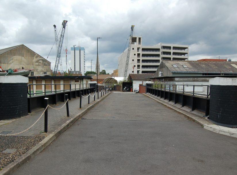 Brentford Dock Bridge Inspection